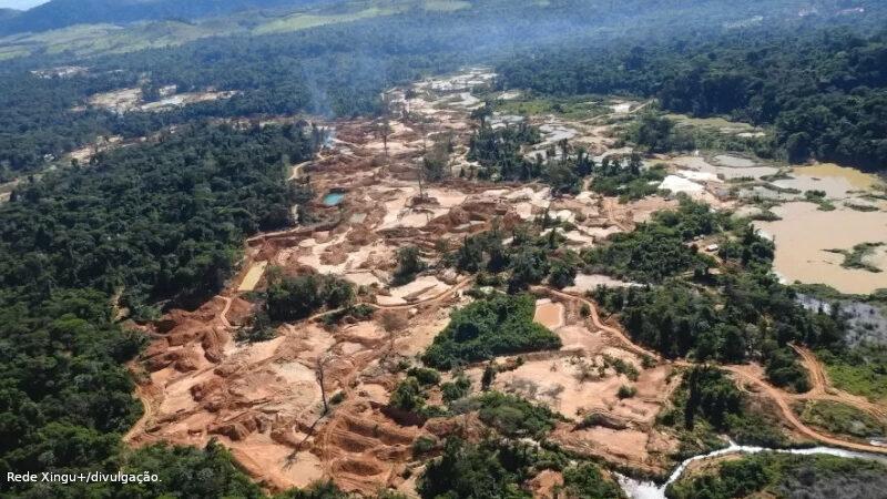 desmatamento em Terras Indígenas
